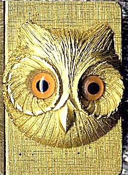 Vintage Florenza Owl Match Box Holder (Image1)
