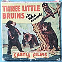Vintage Three Little Bruins In the Woods (Image1)