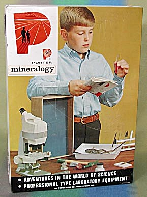 Vintage Mineralogy Set by Porter (Image1)