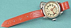 Vintage Child's Watch w/ Red Band (Image1)