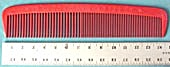 Vintage Oversized Red Plastic Comb (Image1)