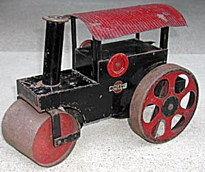Vintage 1920's Steel Toy Steam Roller by Childcraft (Image1)