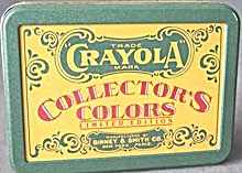 Crayola Collector's Colors Limited Edition Tin (Image1)