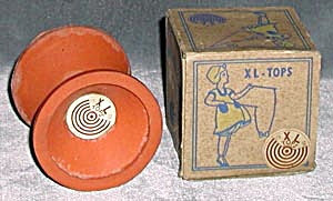 Vintage Toy Rubber Top