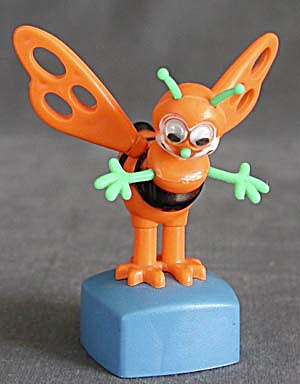 Vintage Bee Push Toy (Image1)