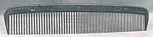 Oversized Black Plastic Comb (Image1)