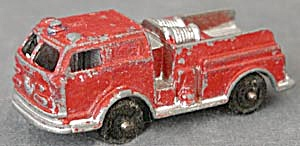 Vintage Tootsietoy Fire Engine