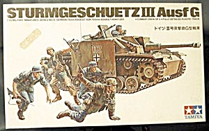 Model 1/35 German Sturmgeschutz Iii Ausf.g Tank