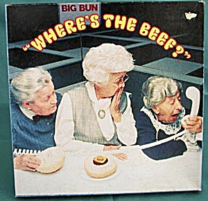 "Wendy's ""Where's the Beef?"" Jigsaw Puzzle (Image1)"