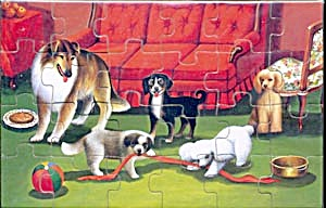 Vintage Collie Jig-Saw Puzzle (Image1)