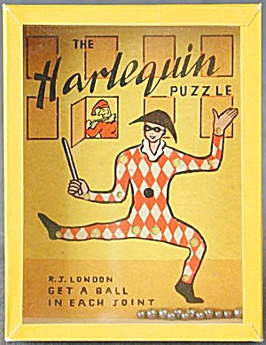Vintage Harlequin Dexterity Game Puzzle (Image1)