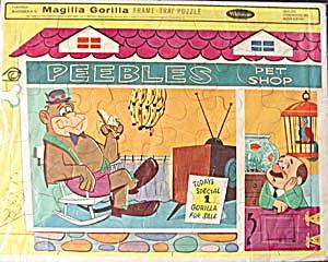 Vintage Magilla Gorilla Frame Tray Puzzle (Image1)