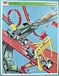 Vintage Johnny Lightning Frame Tray Puzzle  (Image1)