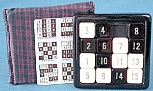 Vintage 15 Puzzle Game, Card & Case (Image1)