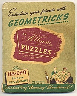 Geometricks Album Of Puzzles & Foo-Linn Chinese Puzzle (Image1)