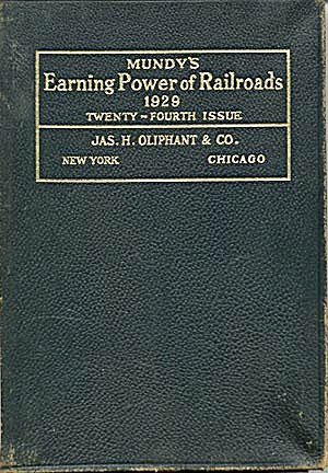 Mundy's Earning Power Railroads (Image1)