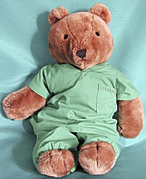 Vintage Large Teddy Bear Doctor (Image1)