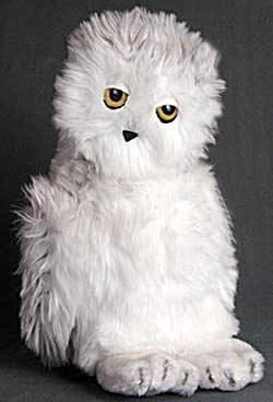 Dakin Snowy Owl Plush Toy (Image1)