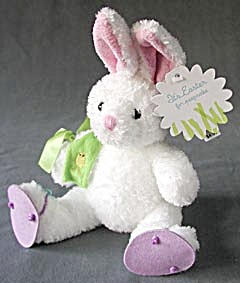 White Bunny Plush Toy (Image1)