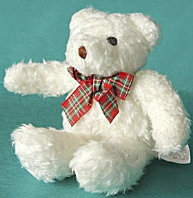 White Plush Teddy Bear