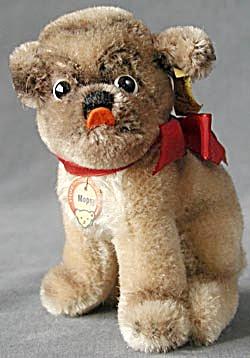 Vintage Mopsy Steiff Dog