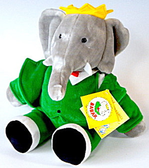 Babarelephant Queen & King Celeste Plush Toys