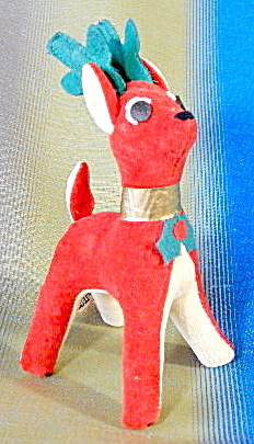Vintage Dakin Dream Pet Christmas Reindeer