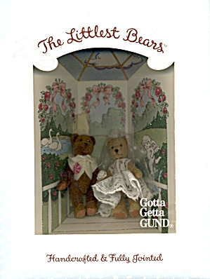 Bride & Groom Gund The Littlest Bears Collection