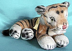 Vintage Steiff Look Alike Tiger