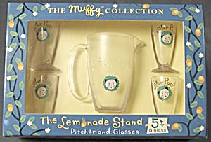 Muffy: Lemonade Stand Pitcher & Glasses (Image1)