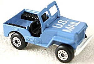 Matchbox U.S. Mail Jeep (Image1)
