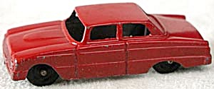 Tootsie Toy Red 2 Door Ford Falcon (Image1)
