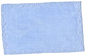 6 Blue Tray Placemats Set Of 6