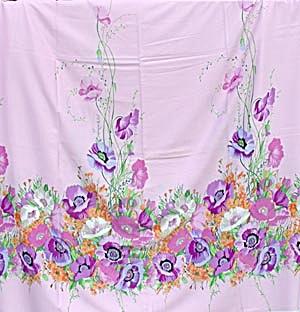 Vintage Floral Boarder Fabric (Image1)