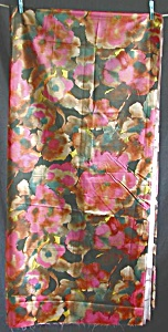 Vintage Floral Fabric Watercolor Effect (Image1)