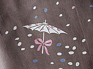 Vintage Umbrella Patterned Fabric (Image1)