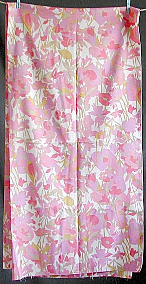 Vintage Floral Abstract Fabric
