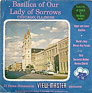Basilica of Our Lady Sorrows View-Master Packet (Image1)