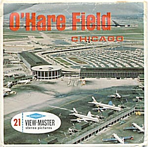 O'Hare Field Chicago View-Master Packet (Image1)
