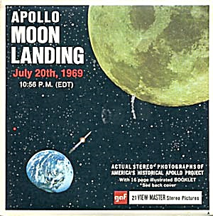 Apollo Moon Landing 1969 View-Master Packet (Image1)