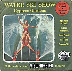 Water Ski Show - Cypress Gardens View-master Packet