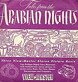 Arabian Nights-S1 View-Master Packet (Image1)