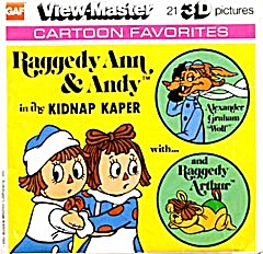 Raggedy Ann & Andy View-Master Packet (Image1)