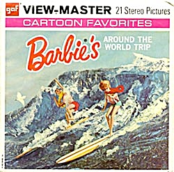 Barbie's Around The World Trip View-Master Packet (Image1)
