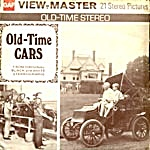 Old Time Cars View-Master Packet (Image1)