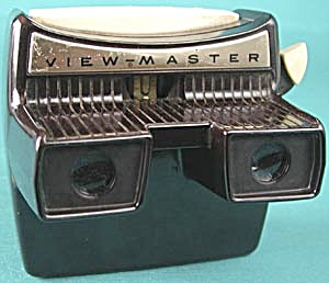 Vintage Model F Lighted View-master Viewer