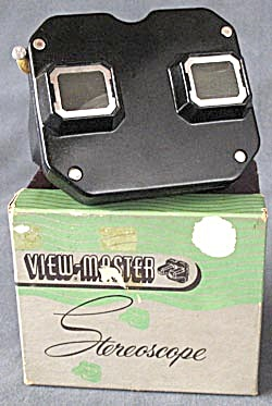 Vintage Model C View-master Viewer & Box