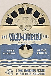 Banff Park & Kings Canyon View-master Reells