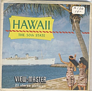 Vintage.hawaii View-master Packet