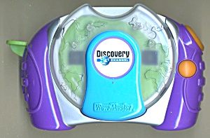 Discovery Channel & Clip On Blue & Green View-master